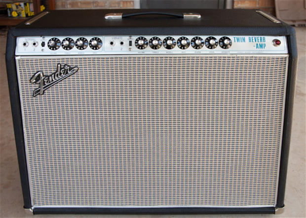 Fender silverface twin reverb dating