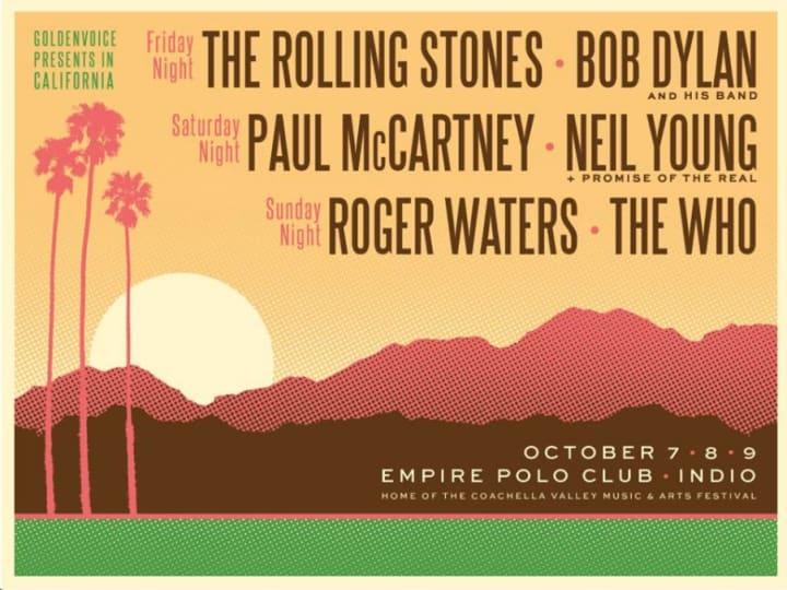 Desert Trip Classic Rock concert series announced in Indio