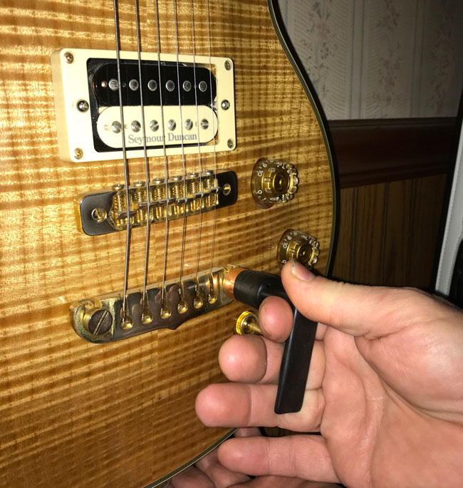 Chuck's Guitar Shop's Tailpiece Wrench and | Reverb News