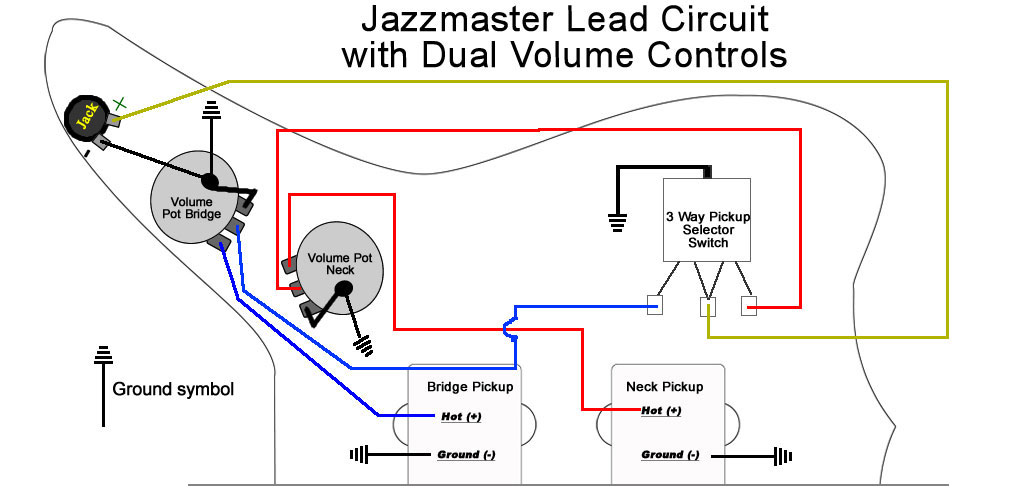 upgrading jazzmaster electronics part ii wiring mods reverb news rh reverb com Fender Support Wiring Diagrams fender blacktop jazzmaster wiring diagram