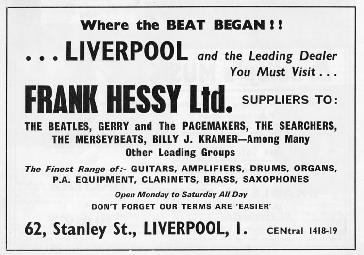 Where Did The Beatles Buy Their First Guitars Reverb News