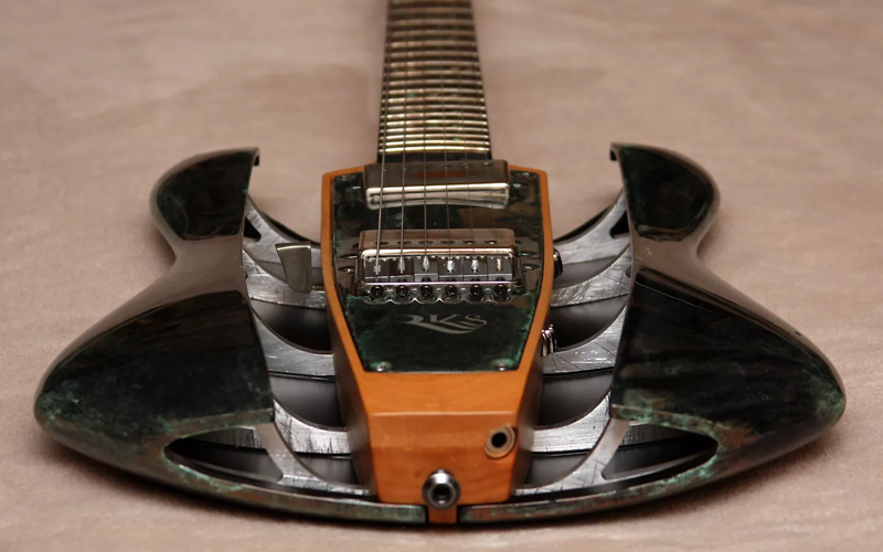 20 guitars with totally unprecedented body shapes on reverb news. Black Bedroom Furniture Sets. Home Design Ideas