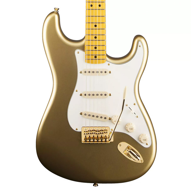 squier classic vibe '50s stratocaster aztec gold