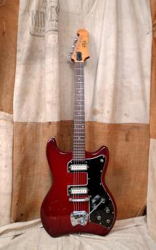 Guild S-100 Polara 1966 Cherry Red image