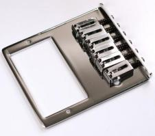 Gotoh® Brand Modern Tele Bridge - Humbucker- Chrome Plated image