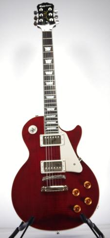 Epiphone  Les Paul Standard PlusTop Pro Electric Guitar Wine Red image