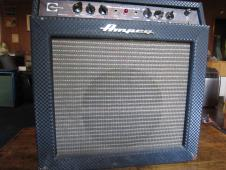 Ampeg Reverberocket 2 1966 Black Model GS-12R w/ Original Footswitch image