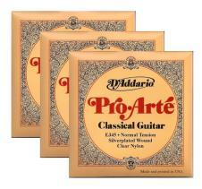 3 Packs of Daddario Pro-Arte EJ45 Classical Guitar Strings image
