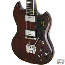 1971 Guild S-100 Walnut Brown image