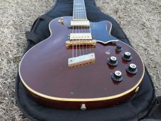 1973 Guild Bluesbird M-75 CS Walnut, Gold , All Original, Plays Exc, 7.8 Pounds image