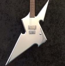 DiPinto Guitars- Cara Guitars custom build Shuriken Thowing Star  2015 Chrome image