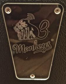 Mint 3 Monkeys Virgil  Black SN 6 image