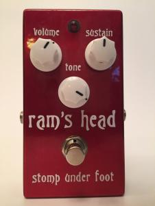Stomp Under Foot 73 Rams Head SN #44  Red Sparkle image