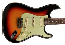 """Fender '64 Stratocaster """"L-Series"""" Relic 2014 3 Tone SB image"""