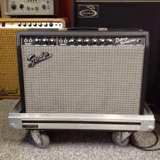 Fender '65 Deluxe Reverb Reissue Tube Amp with Road Case image