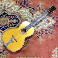 Lyon and Healy / Washburn Lakeside Parlor Guitar Natural image