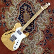 Fender '72 Telecaster Thinline With Hardshell Reissue Natural image