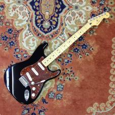 Fender Standard Stratocaster 2011 Black w/ Tortoise Pickguard image