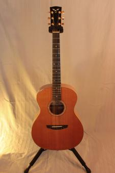 Goodall Maple with Cedar top Grand Concert 2008 AAAA Maple w/ Cedar image