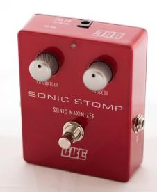 BBE Sonic Stomp Sonic Maximizer Pedal 2014 Red image