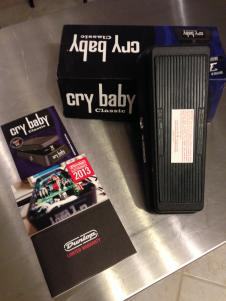 Dunlop Cry Baby Wah GCB-95  Black - Excellent Condition! image