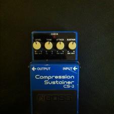Boss Compression Sustainer CS-3 Blue image