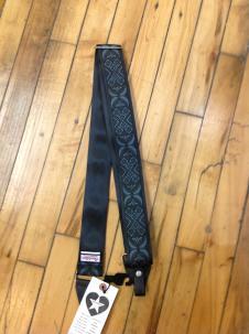 Souldier Vintage Style Seatbelt Banjo Strap  Black image