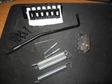 Classic style six sting tremolo, complete. Import item! DIYGK CS6B  Black image