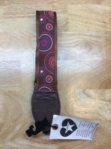Souldier Guitar Strap 2015 Crop Circles/Brown image