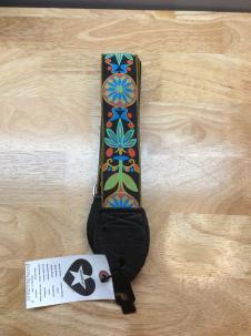 Souldier Guitar Strap 2015 Daisy Blue/Black image