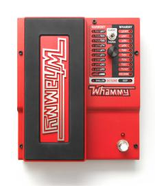 DigiTech Whammy Pitch-Shifting Guitar Effects Pedal image