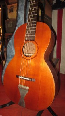 Circa 1931 Lakeside Parlor Guitar Natural image