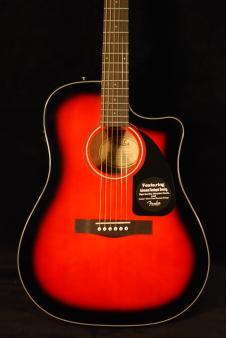 Fender CD-60CE Sunburst w/Case 2015 Sunburst image