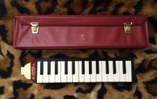 Hohner Melodica Piano 27 w/ Red Case & Mouthpiece - Made in Germany image