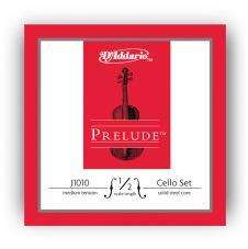 D'Addario J10101.2M Prelude Cello 1/2 Scale Medium Tension Set image