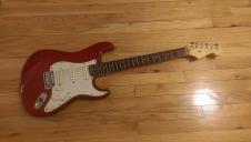 Fender Stratocaster 2001 Cherr image