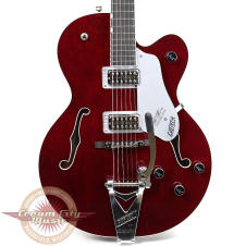 Demo Model Gretsch G6119 Chet Atkins Tennessee Rose Hollow Body Deep Cherry Stain image