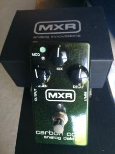 MXR Carbon Copy Green Sparkle image