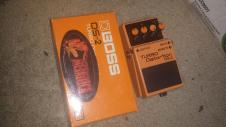 Boss ds-2 turbo distortion pedal with original box.  i love trades image