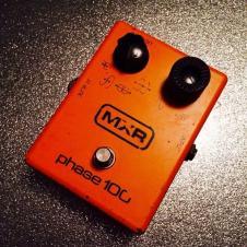 Original vintage analog MXR Phase 100  1977 phaser pedal image