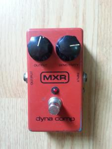 MXR M-102 Dyna Comp 1981 Red image