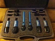 Audio Technica MB/Dk6 Drum-Microphone Pack with hard case image