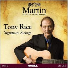 Martin Tony Rice Signature Strings Acoustic Monel .013-.056 MTR13 image