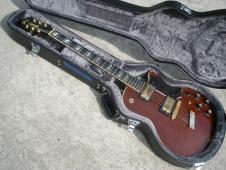 1973 Guild M75 Bluesbird Custom - Cherry Red Finish - M75CS image