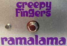 Creepy Fingers Ramalama 2015 Silver Sparkle image
