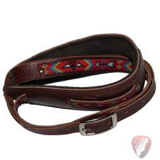 Souldier Vintage Leather Saddle Strap - The Thunderbird  - Tan image