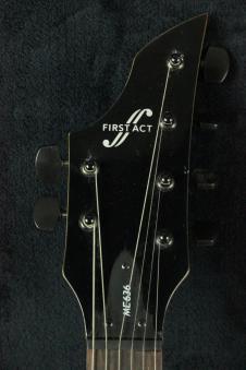listings similar to first act me301 electric guitar fender strat style black overhauled set. Black Bedroom Furniture Sets. Home Design Ideas
