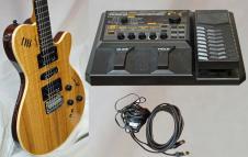 Godin KTSA Koa Electric Plus in Combination a Roland GR 20 Synthesizer AWESOME image