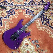 Squier Stagemaster Metallic Purple Eletric Guitar with Matching Reverse Headstock image