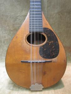 1917 Martin Rare Style A Mandolin Spruce Top  Exc Shape w/ Orig Bag Free US Shipping! image